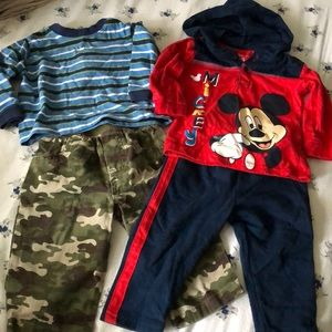 Lot of 4 baby boy items 6-9 month
